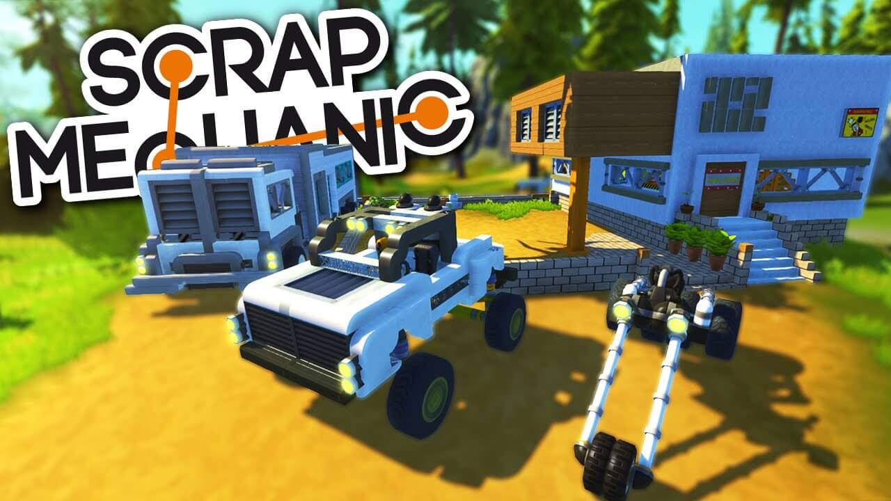 Scrap Mechanic download for pc