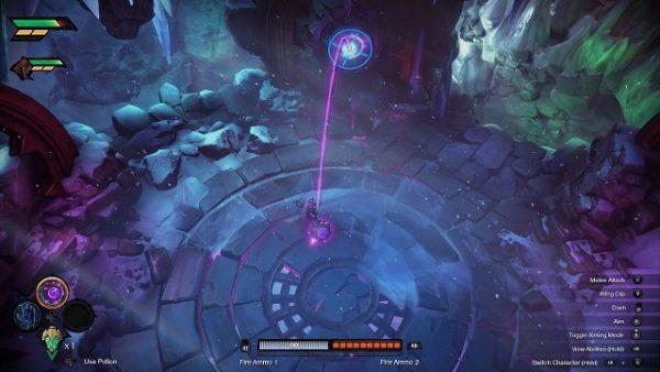 darksiders genesis pc gameplay