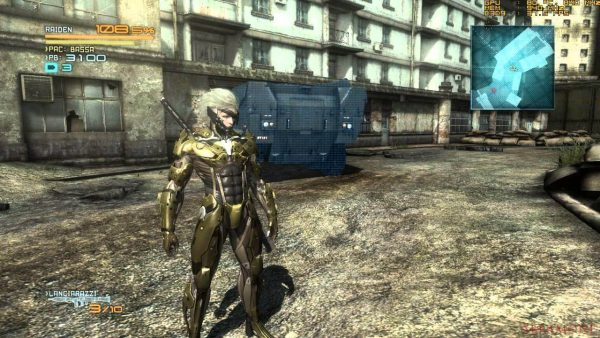 Metal Gear Rising Revengeance iso pc download