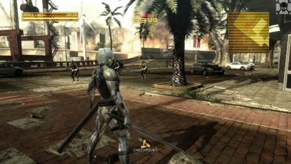 Metal Gear Rising Revengeance pc game download
