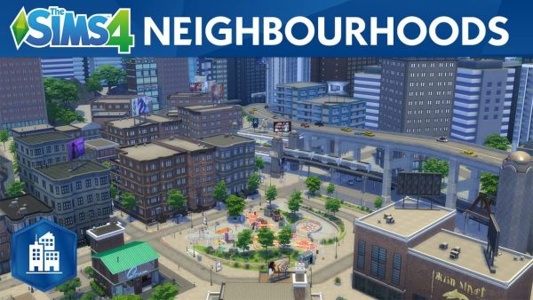 The Sims 4 City living pc download
