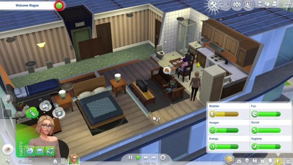 The Sims 4 City living pc game download