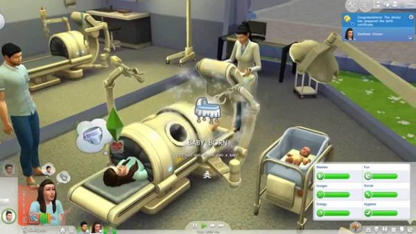 The Sims 4 get to Work download pc