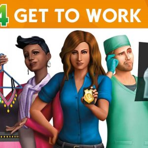 The Sims 4 get to Work pc highly compressed