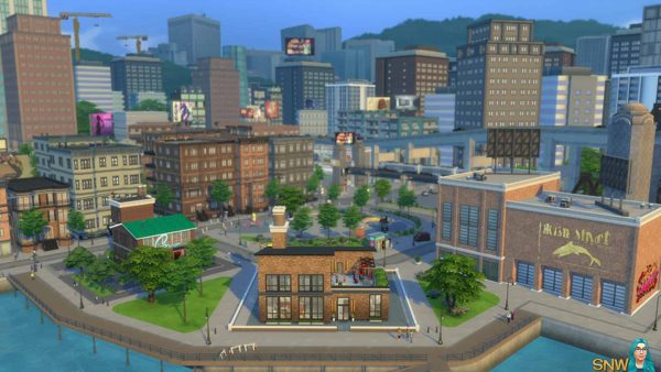 the sims 4 city living download mac